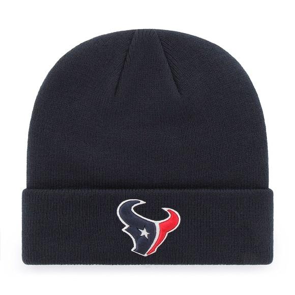 4c8a0547bf4 Houston Texans Adult Cuff Beanie Hat Navy NFL nwt
